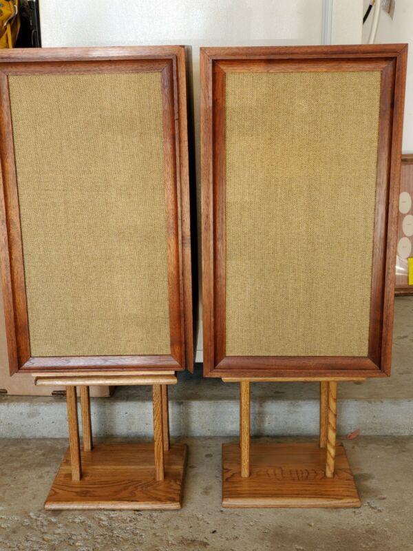 Vintage GoodMan Maximus5- Floor 3Way Speakers System &Stands