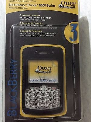 Blackberry Curve Belt Clip - NEW OTTERBOX Defender Series  BlackBerry Curve 8300 series Black case/belt clip