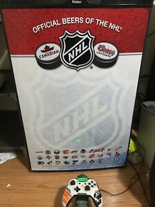 Special edition coors light NHL edition mini fridge