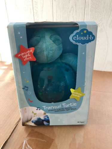 Cloud b Tranquil Turtle Aqua White Noise Sound Machine and N