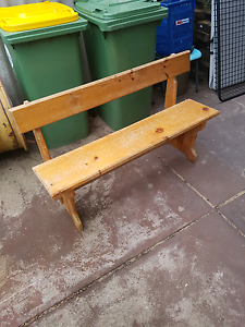 Retro Pine Bench Seat Cloverdale Belmont Area Preview