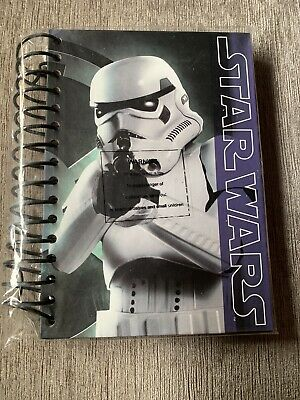 Star Wars Stormtrooper A5 Wiro Notebook Hardback 80 Pages (sealed)