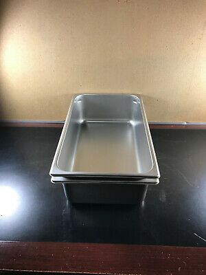 Abc Pro 125 Stainless Steel Full Size Steam Table Pan 6 Deep Model 2220069