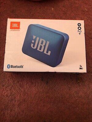 Jbl Go2+ Speaker BLUE. BRAND NEW