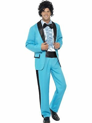 1980s 1970s Prom King mens Costume fancy dress outfit college suit stag - College Kostüm Party