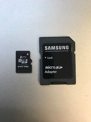 Original Samsung 1GB Micro SD Speicherkarte MicroSD Speicher