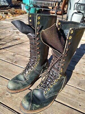 Vintage Lineman Boots