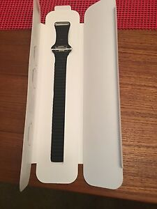 Apple Watch band leather loop genuine never worn.