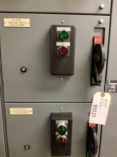 Allen-Bradley Motor Control Center Bucket, 50 Amp, Size 2, 25 HP, 3 Phase, 480V
