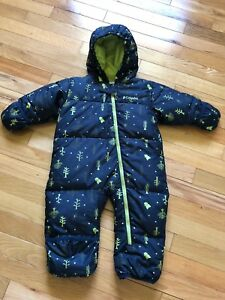 Columbia infant snowsuit