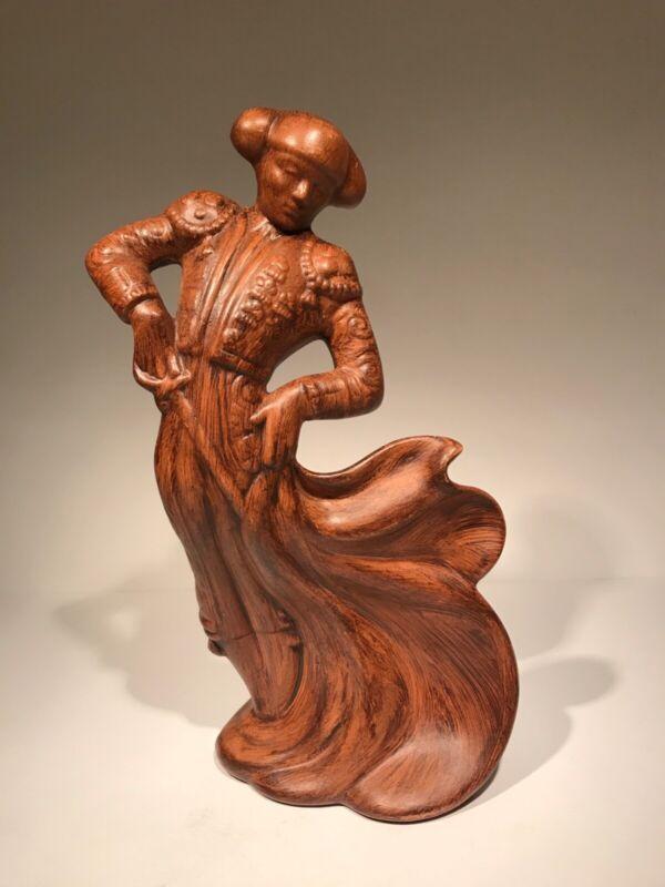 MCM Matador Figurine-Hand Painted-Brown