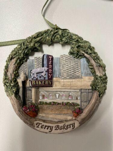 2021:  Terry Bakery NIB Hestia Christmas Ornament
