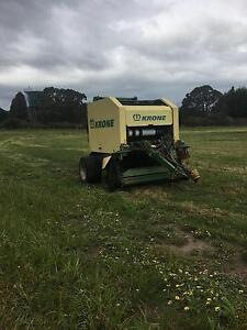 Krone 1400 round baler Bairnsdale East Gippsland Preview