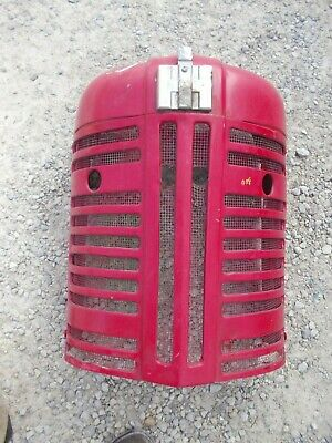 Farmall 350 300 Tractor Nice Original Factory Ih Ihc Front Nose Cone Grill Emb