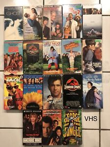 DVDs and VHSs movies