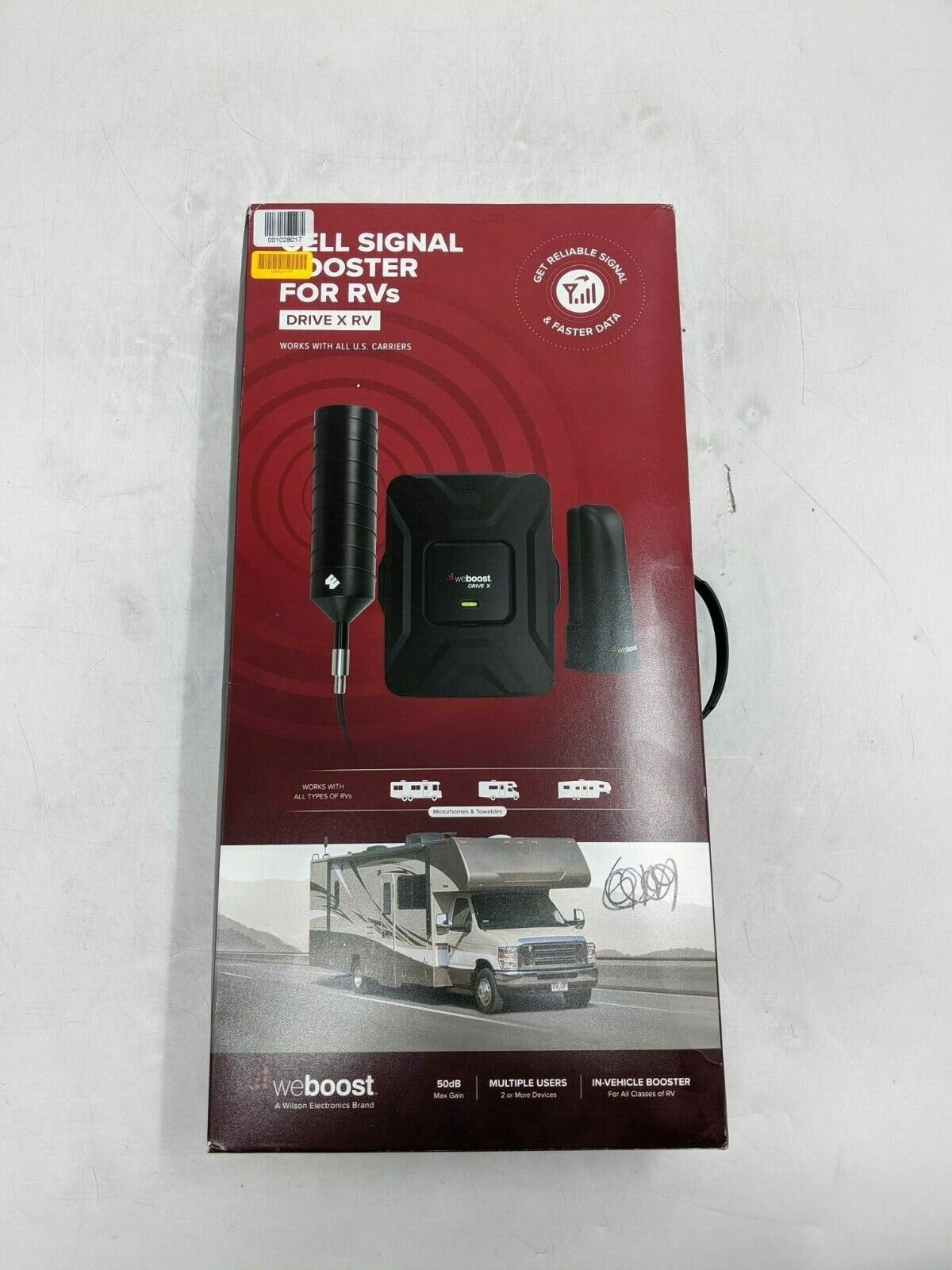 new drive x rv cell phone signal