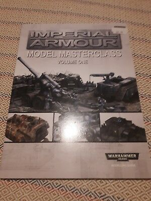 Forgeworld Imperial Armour Model Masterclass Volume One
