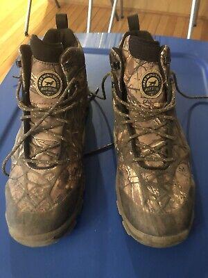 "Irish Setter 6"" Vaprtrek Boots Size 12 Mossy Oak"