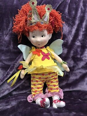 "(FANCY NANCY plush Doll18""  Madame Alexander~Rare Princess fairy doll)"