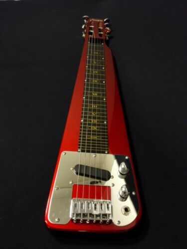 Haze HSLT 1930 Electric LAP Steel Guitar w/Feet Supporters, Glass Slide Bar