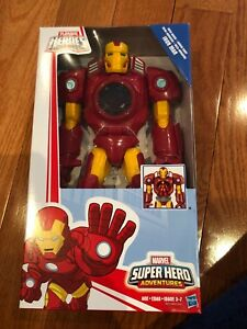 Brand new large iron man super hero action figure!!