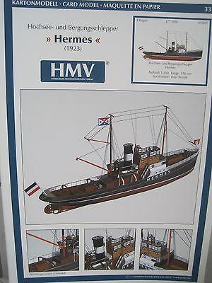 Hermes Schlepper 1923 Schiff Kartonbausatz *NEU* Kartonmodel