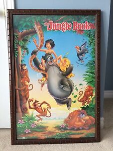 The Jungle Book Framed Movie Poster