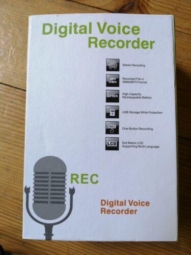 Diktiergerät USB  Digital Audio Voice Recorder Aufnahmegerät Sprachaufnahme