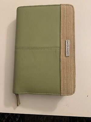 Brand New Day Runner Pro Undated Day Planner - Green Small Stain On Cover