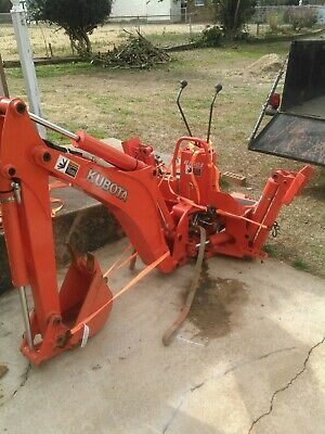 Kubota Bt601 Backhoe Used Slightly Fits Kubota Mid-size Tractor As Kubota Bx25