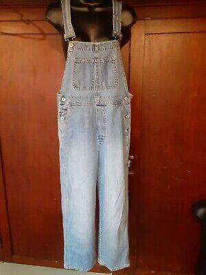 Vintage Overalls & Jumpsuits Lady's Vintage Gap Overall Jeans Industrial Denim suspenders size XS 100% Cotton $35.00 AT vintagedancer.com