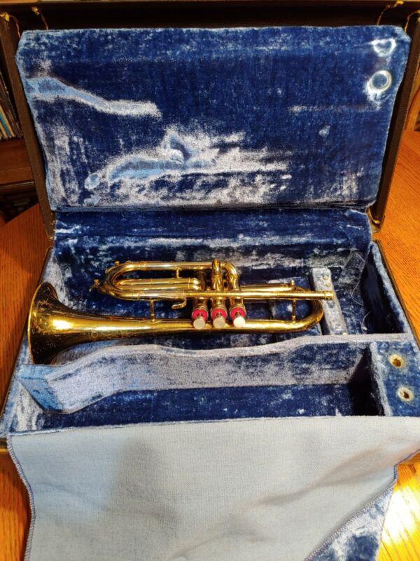 1967 Conn Cornet Shooting Stars Bach Stradivarius Case
