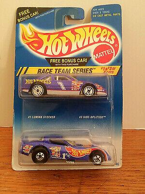 1995 Hot Wheels Race Team Series #2 Hot Wheels 500 & #3 Side-Splitter -Funny Car