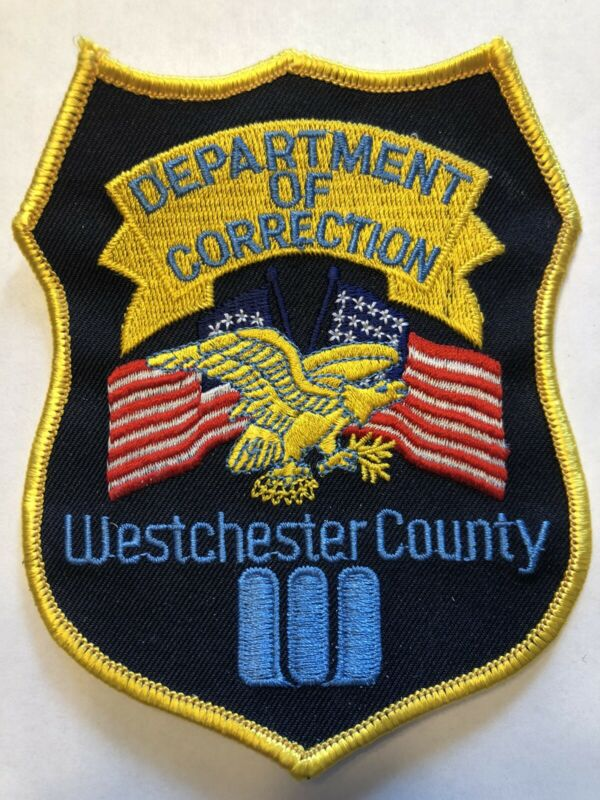 Westchester County New York Department Of Corrections Patch