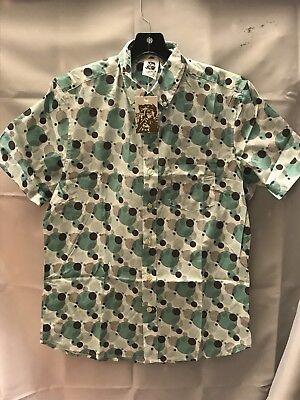 Kennington Ltd. Men's Shirt Size Medium Short Sleeve