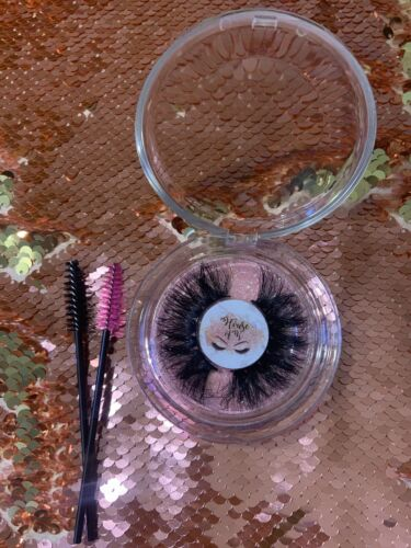 3d Mink Lashes 25mm Fluffy - $1.50