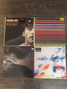 Various Sealed Vinyl Records For Sale!