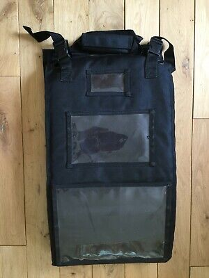 Perfect World Luggage Expand-It black nylon vertical hang organizer carry -