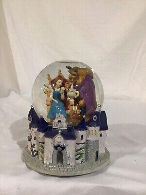 Disney Beauty And The Beast Snow Globe