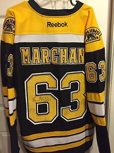 Brad Marchand Signed Jersey Boston Bruins