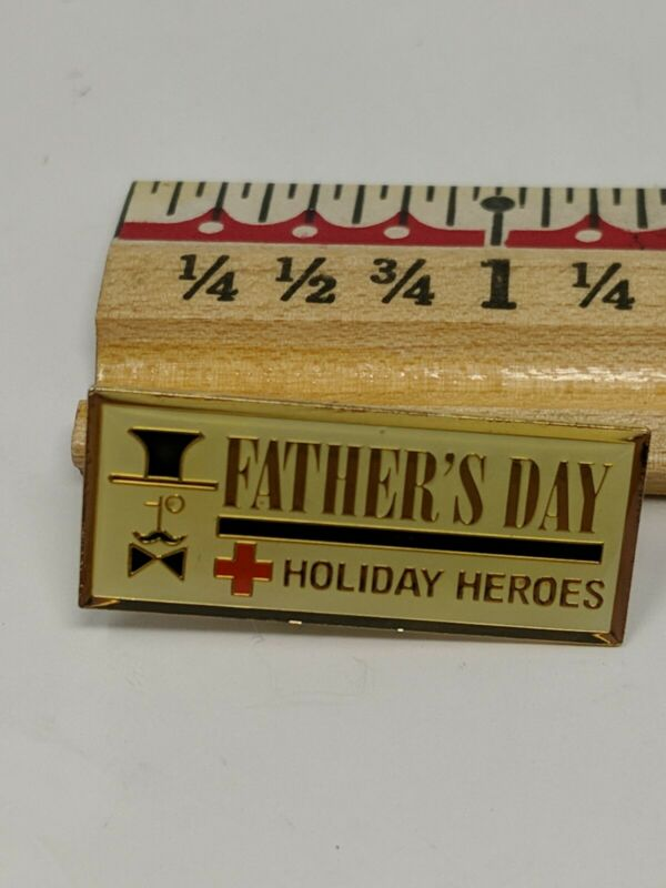 American Red Cross ARC Pin Father