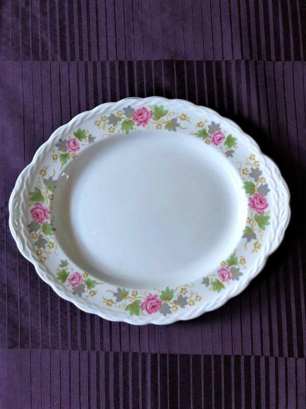 Oval Service Platter  Grindley England Staffordshire Platter