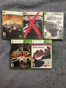 Need for Speed Xbox 360 Games