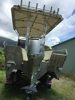 HONDA 90HP 4 STROKE OUTBOARD - 470 HOURS.  VERY GOOD CONDITION Mossman Cairns Surrounds Preview
