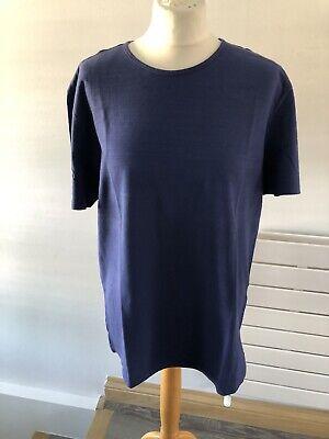 John Varvatos Men's Blue Cotton Short Sleeves T Shirt Size XL