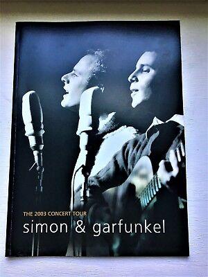 Simon And Garfunkel 2003 Concert Tour Program