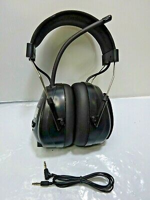 Am Fm Radio Headphones Noise Reduction Safety Earmuffs Hearing Protection