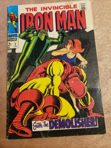 Iron Man #2 See Pictures of nice looking copy
