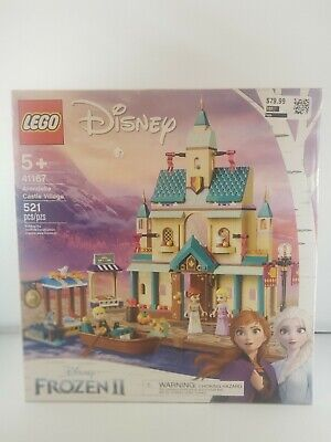 NOB- LEGO Disney: Arendelle Castle Village 521-Piece (41167) Frozen II Set