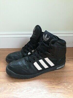 Adidas Black High Tops UK Size 8, EUR 42